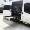 面包车侧门专用超薄型电动轮椅上车平台 2