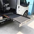 面包车侧门专用超薄型电动轮椅上车平台 4