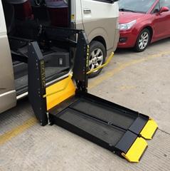 商务车面包车用侧门或尾门用电动轮椅升降机残疾人轮椅升降器