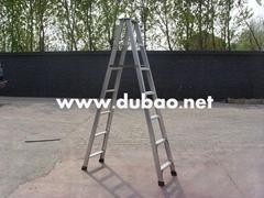 铝合金宽邦人字梯2.5米