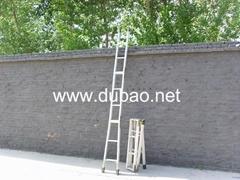 铝合金下井梯3折4米
