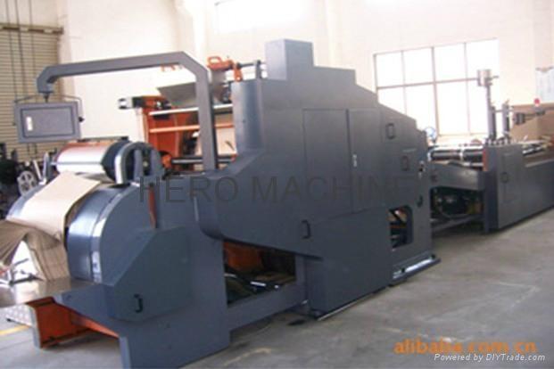FD-550 high-speed Roll Feeding Square Bottom Paper Bag Making Machine 1