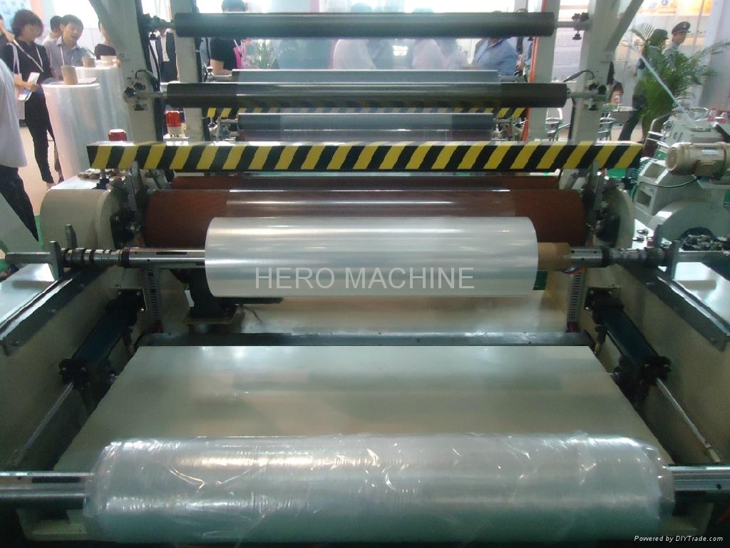 FILM BLOWING MACHINE VIDEO