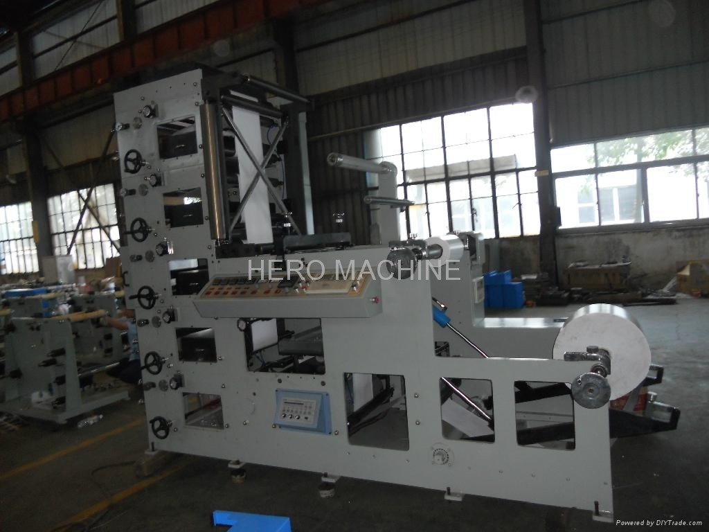 5 COLOR BOPP FLEXO PRINTING MACHINE