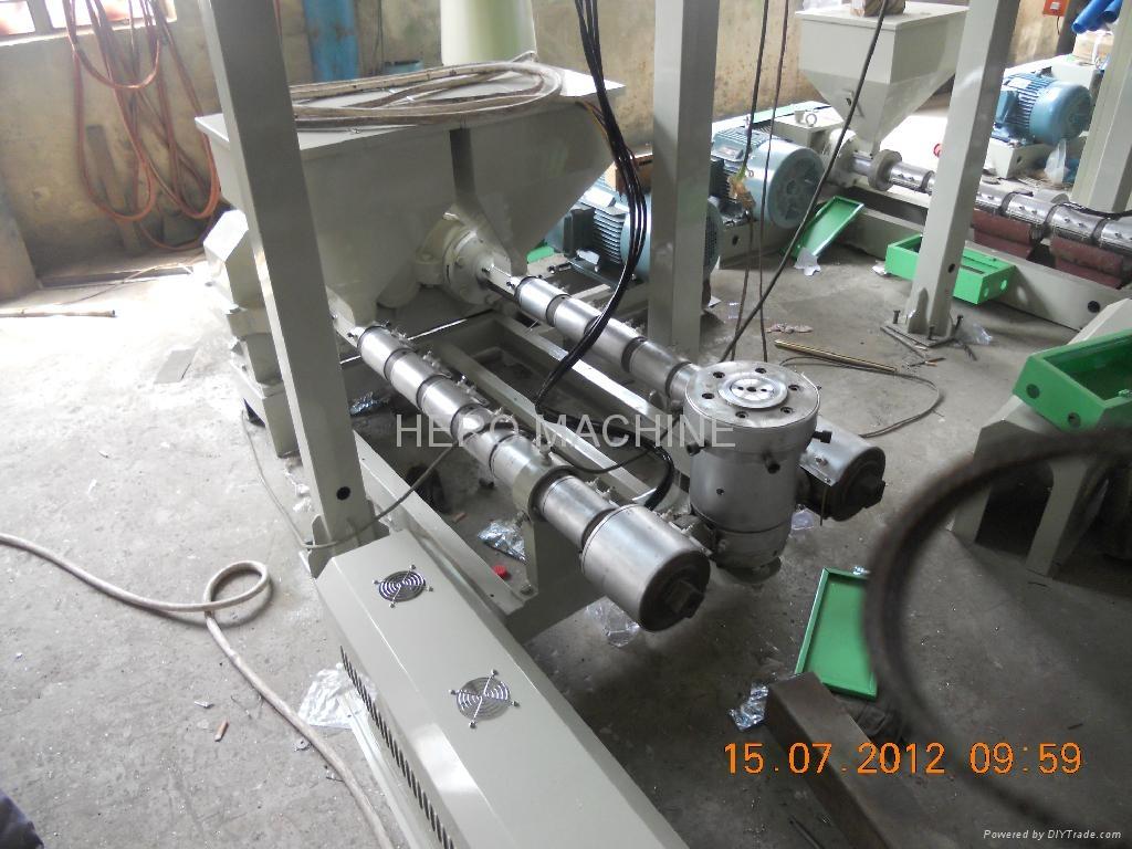Double-colour Striped Film Blowing Machine 4