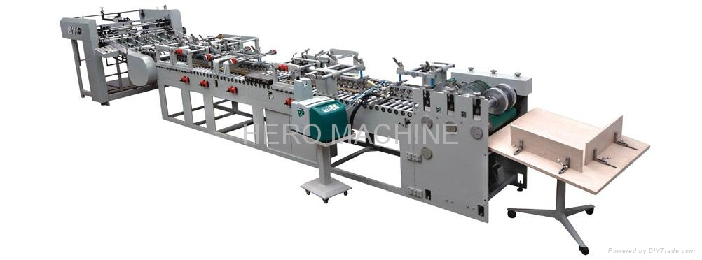 HR1100-I Semi Automatic Type Paper Bag Tube Forming Machine 1