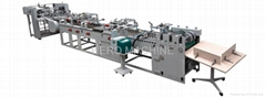 HR1100-I Semi Automatic Type Paper Bag Tube Forming Machine