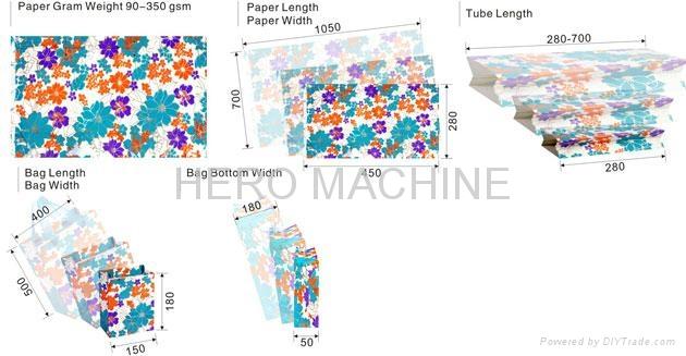 HR1100-II Semi-Automatic Type Paper Bag Bottom Gluing Machine 3