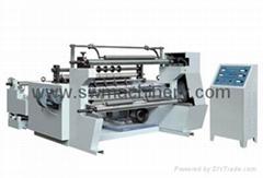 Horizontal Paper Slitting & Rewinding Machine