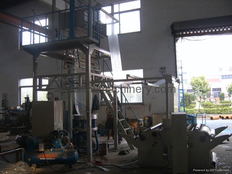 PE Rotary Machine Head Film Blowing Machine Set 3