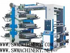 六色柔板印刷机
