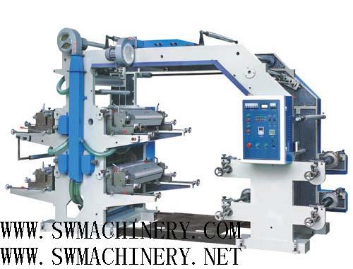 Four-Colour Flexographic Printing Machine 1