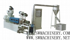 Wind-cooling Hot-cutting plastic Recycling Compounding Machine (Hot Product - 1*)