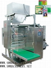DXDO-F900C  Powder four side sealing & multi-line packing machine