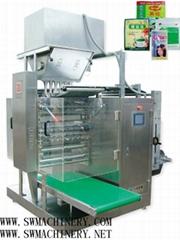 DXDO-F900C  Powder four side sealing & multi-line packing machine