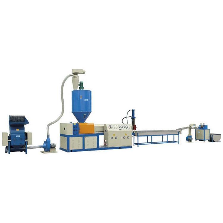 extruder plastic granules shredder granules making machine recycling 1