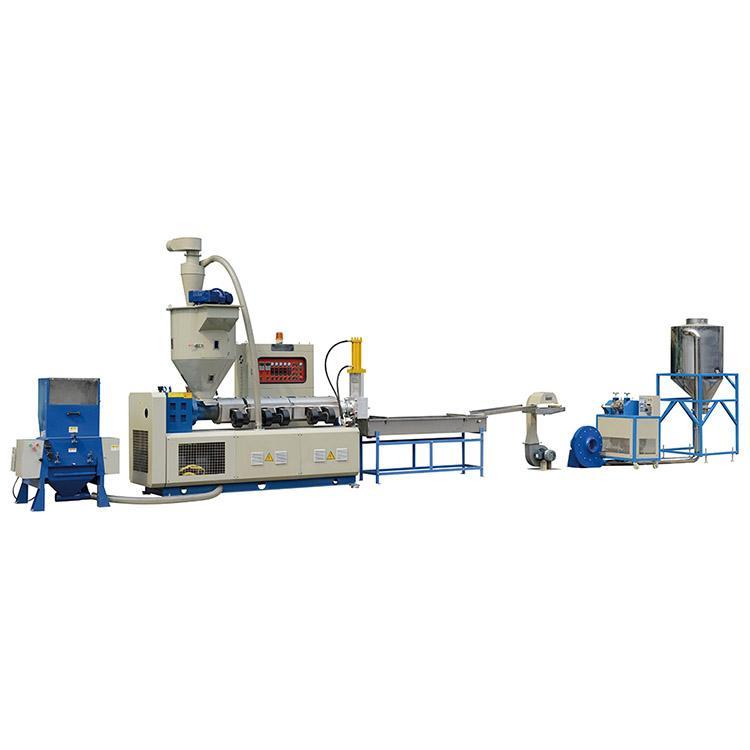 automatic single screw waste cost plastic recycling machine sj 120 1