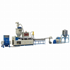 automatic single screw waste cost plastic recycling machine sj 120