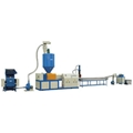 double stage extruder granulator plastic