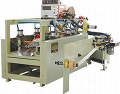 WFD100-1 High Speed twist-rope & Flat-belt handle making machine