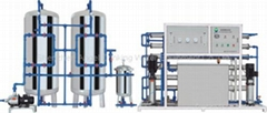 RO-1000I(2000L/H) Reverse Osmosis pure water purifier, water processing machine