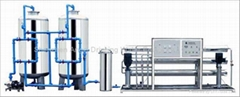 RO-1000I(5000L/H) Reverse Osmosis pure water purifier, water processing machine