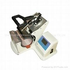 300W silver Automatic Digital mug heat press machine