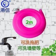 港信卫浴 出水管下水管2m 连接水龙头 水嘴 可清洗厕所拖把