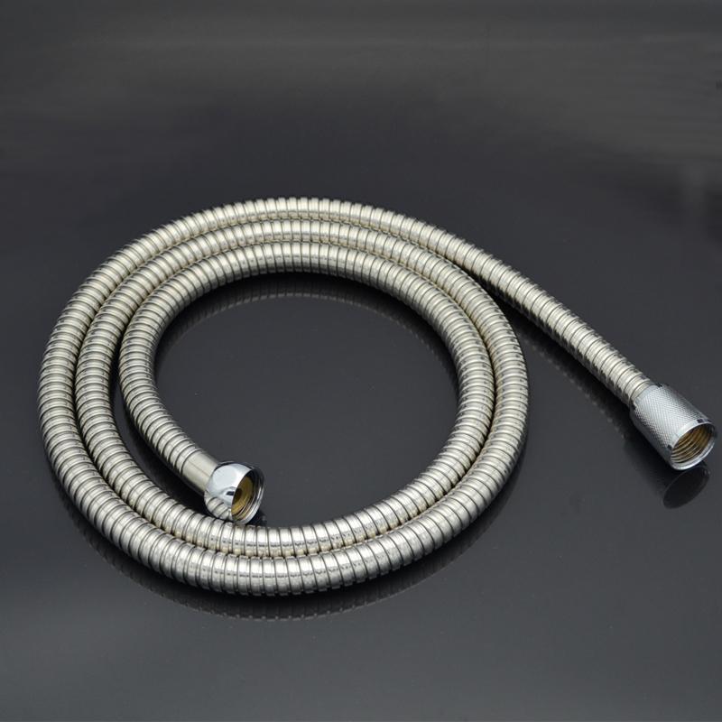 港信衛浴手持淋浴花灑噴頭蓮蓬頭不鏽鋼淋浴軟管1.5米 1