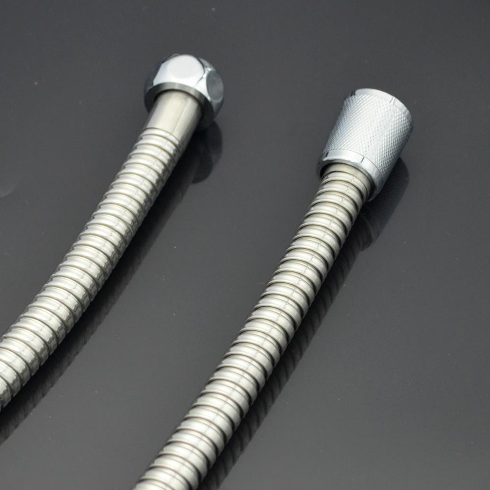 港信卫浴手持淋浴花洒喷头莲蓬头不锈钢淋浴软管1.5米 5