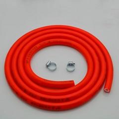港信家用煤氣管加厚型2米5 天燃氣軟管 液化氣管燃氣管橡膠