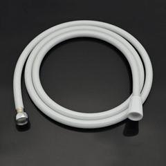 港信卫浴2m淋浴花洒喷头白色软管PVC材质接头为通用