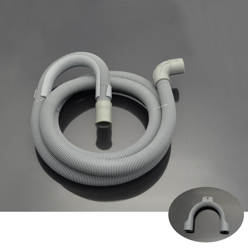 全自动滚筒洗衣机排水管延长管弯头下水管出水软管支架洗衣机配件 1