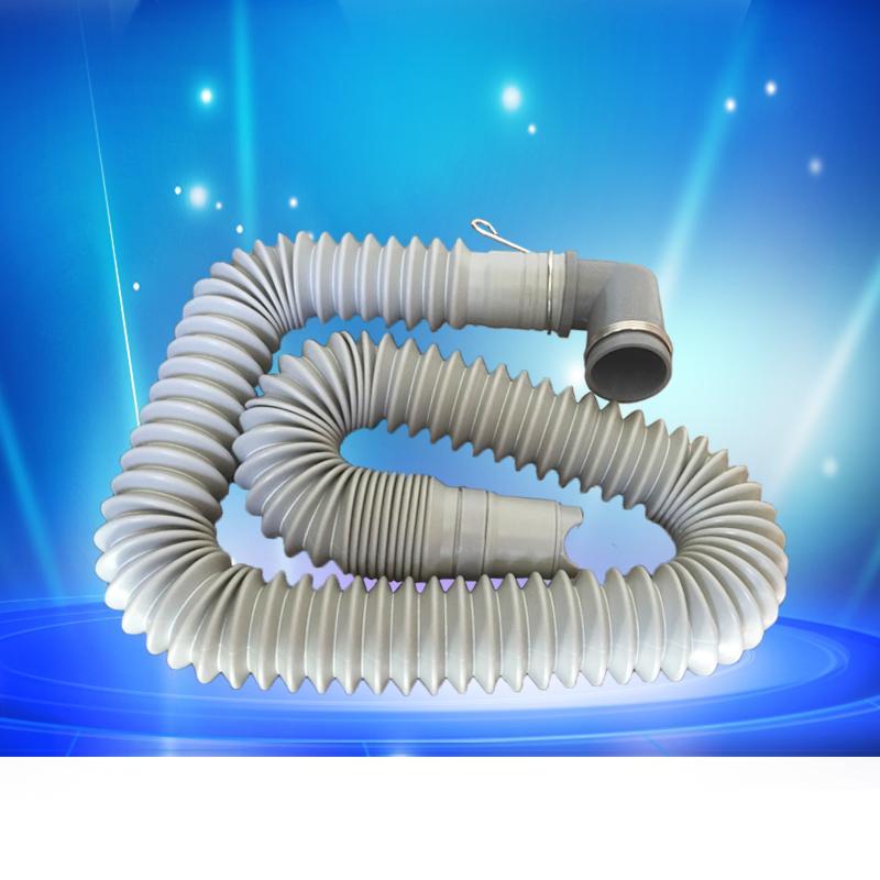 可伸縮洗衣機排水管可拉長縮短下水管加厚接頭 2