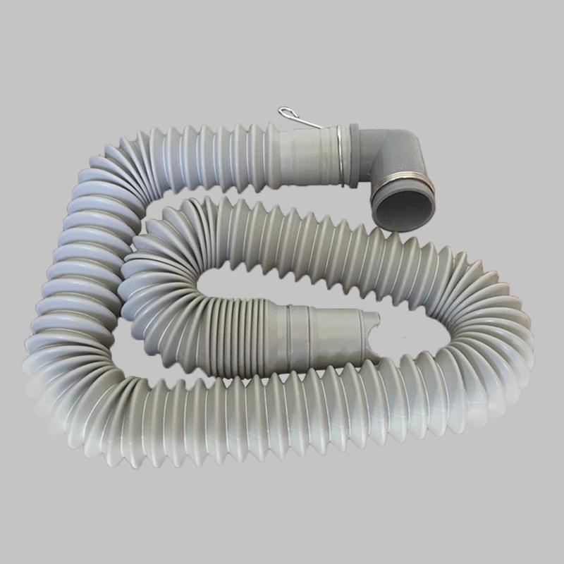 可伸縮洗衣機排水管可拉長縮短下水管加厚接頭 1