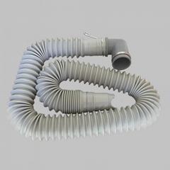 可伸縮洗衣機排水管可拉長縮短下水管加厚接頭