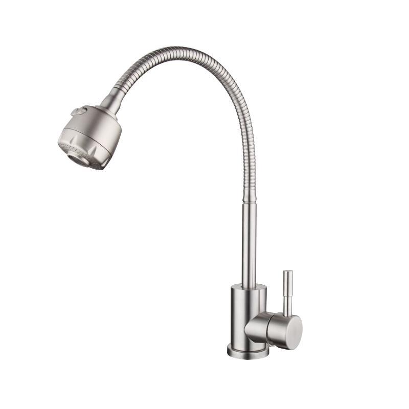 廚房家用冷熱龍頭洗碗池防濺多方向水龍頭 6