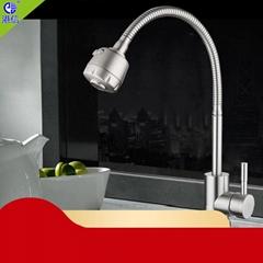 廚房家用冷熱龍頭洗碗池防濺多方向水龍頭