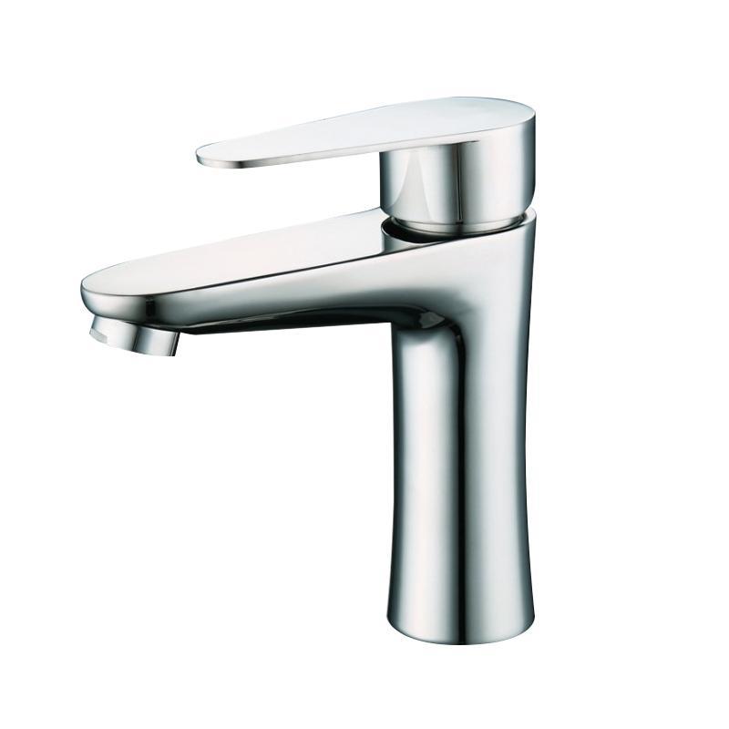 不鏽鋼浴室衛生間冷熱面盆臉盆水龍頭 5