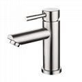 不鏽鋼浴室面盆龍頭冷熱出水 5