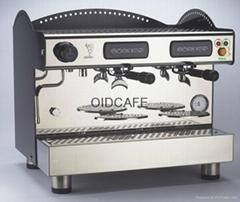 意大利BEZZERA贝泽拉B2009意式半自动双头咖啡机