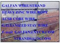 galvanized iron wire strand