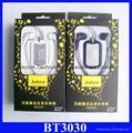 BT3030 bluetooth headset Wireless Stereo Bluetooth earphone BT-3030  7