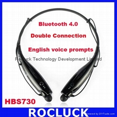 HBS730 Bluetooth Headphone Bluetooth 4.0 with voice prompts For iPhone Samsung