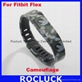 Replacement bands for Fitbit Flex (Camouflage )