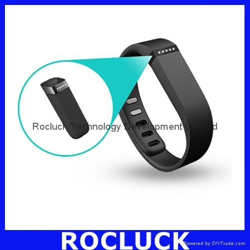 Fitbit Flex Smart bracelet (Red) for IOS Android and Windows Phone 2