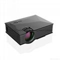 Unic UC46 Wireless WIFI Mini Portable Projector 1200 Lumen 800 x 480 Full HD LED