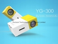 YG300 Mini Pocket Projector With Built-in lithium battery