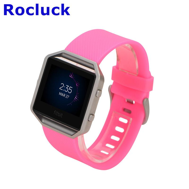 For Fitbit Blaze replacement Silicone watch band watch strap 2