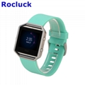 For Fitbit Blaze replacement Silicone watch band watch strap
